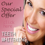 Teeth whitening done safely by the experts at Bridge Dental for a rejuvenated smile