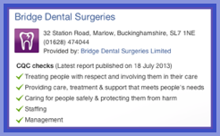 CQC-Report-on-Bridge-Dental-Surgeries-Marlow