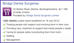 CQC-Report-on-Bridge-Dental-Marlow-new3-250